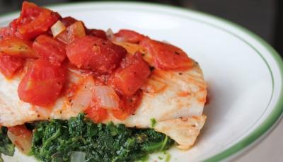 paleo tomato basil mahi mahi